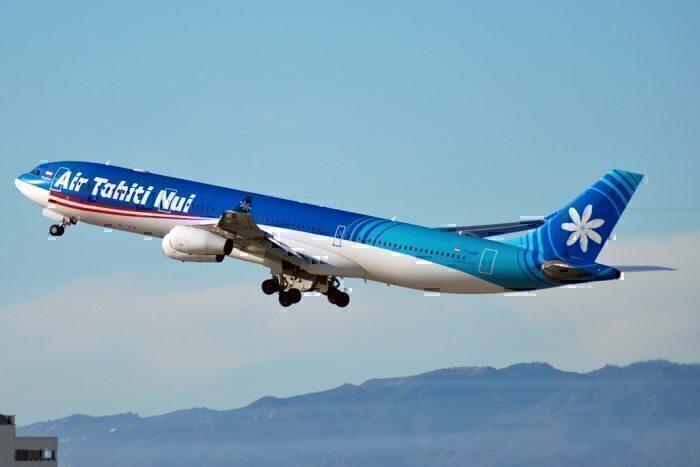 Air Tahiti Nui Operates Its Final Airbus A340 Flight