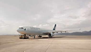 A Cathay Pacific Airbus A330