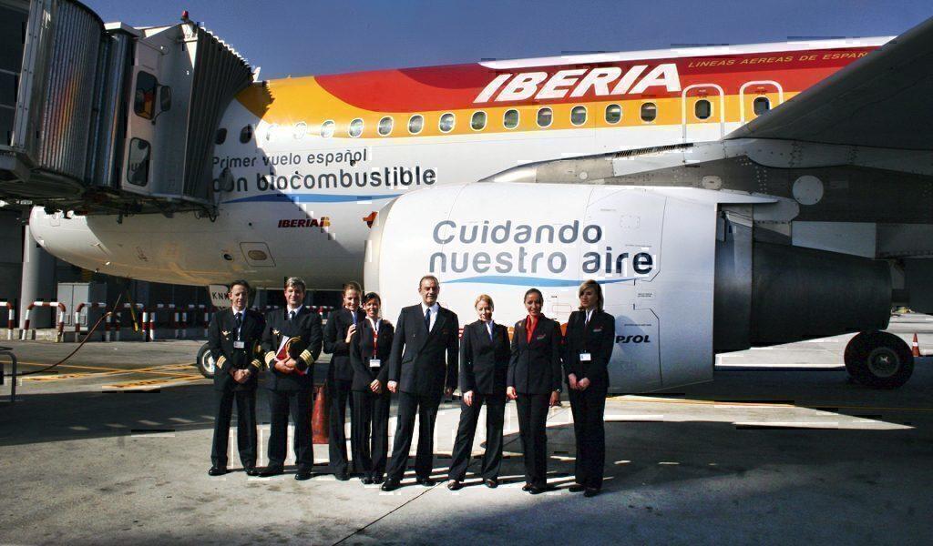 First Biofuel Flight in Spain