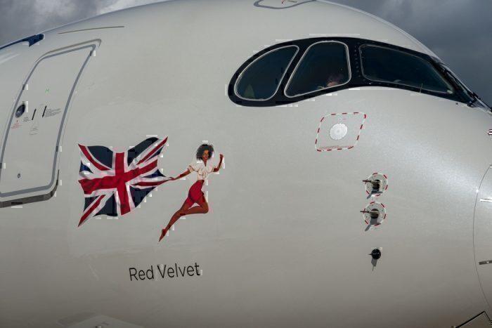 Virgin A350 Zadie
