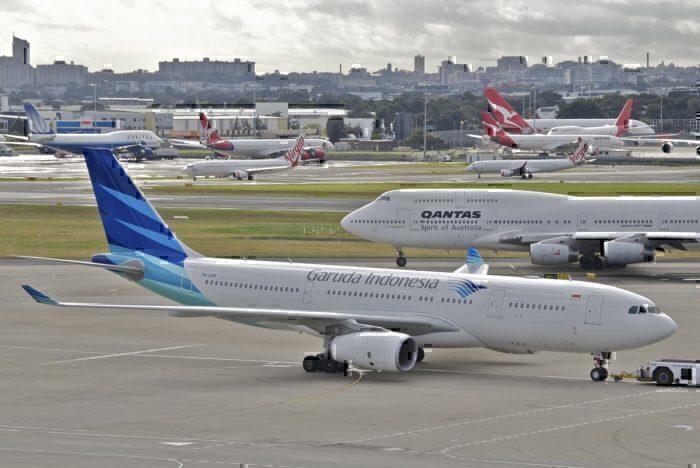 Garuda Indonesia, Airbus A330neo, London Bali