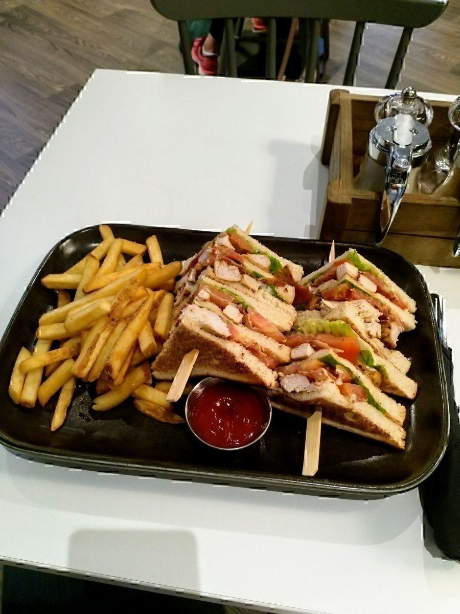 SoMa Club Sandwich