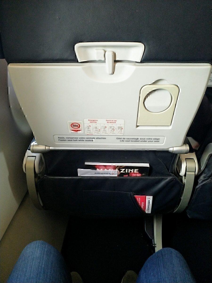 AF A320 Seat 11A