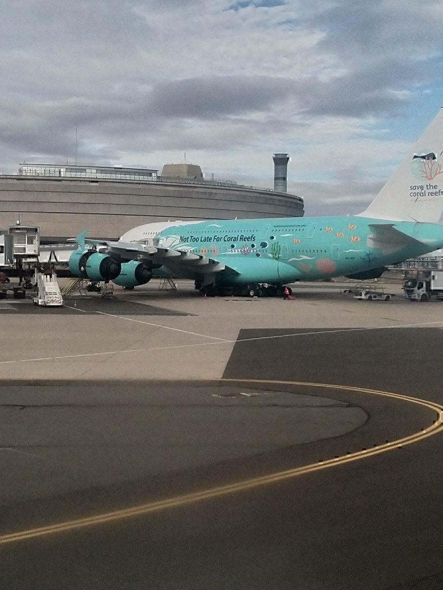 Hi-Fly A380 at CDG