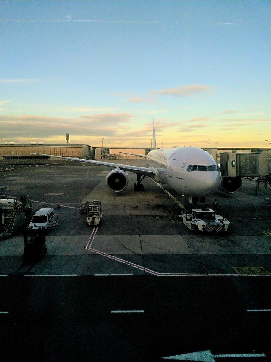 AF 777 at CDG