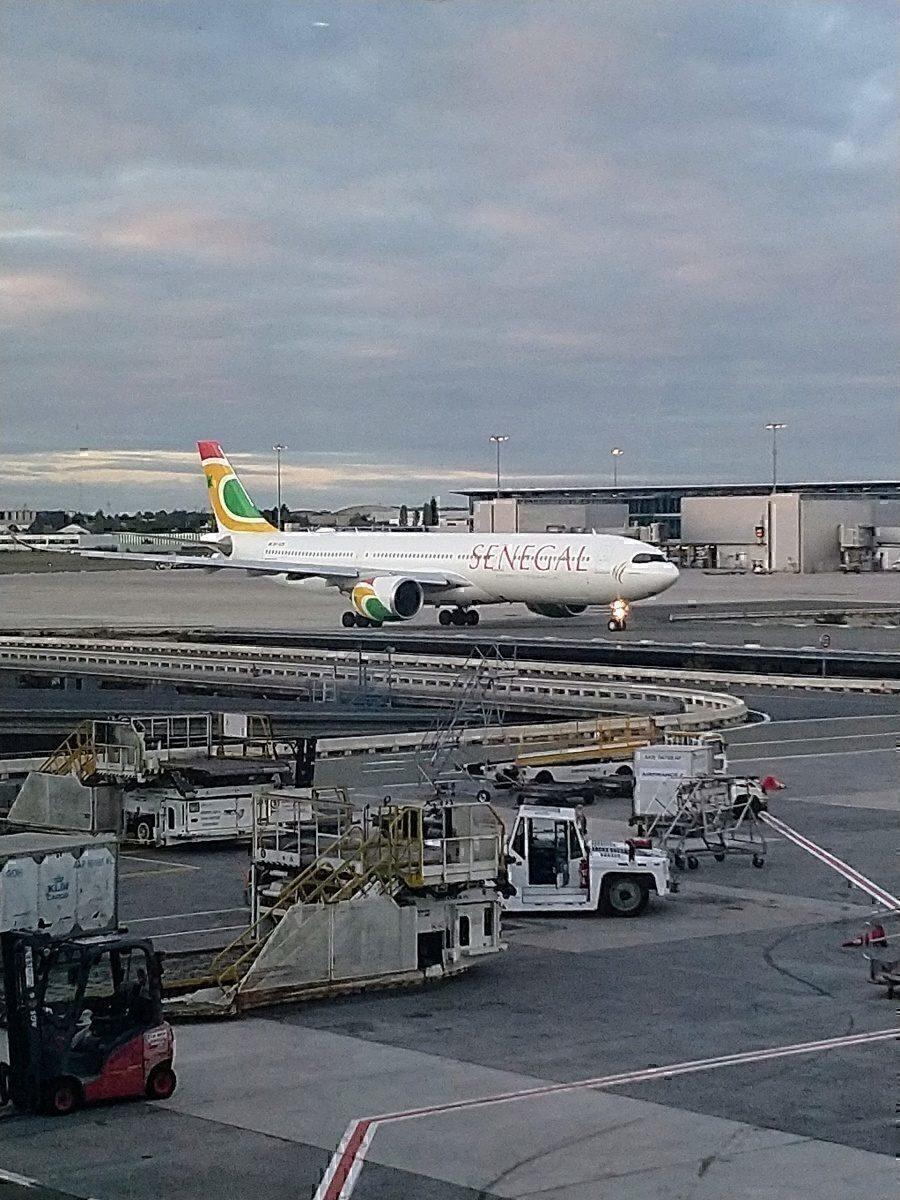 Air Sengal A330neo at CDG