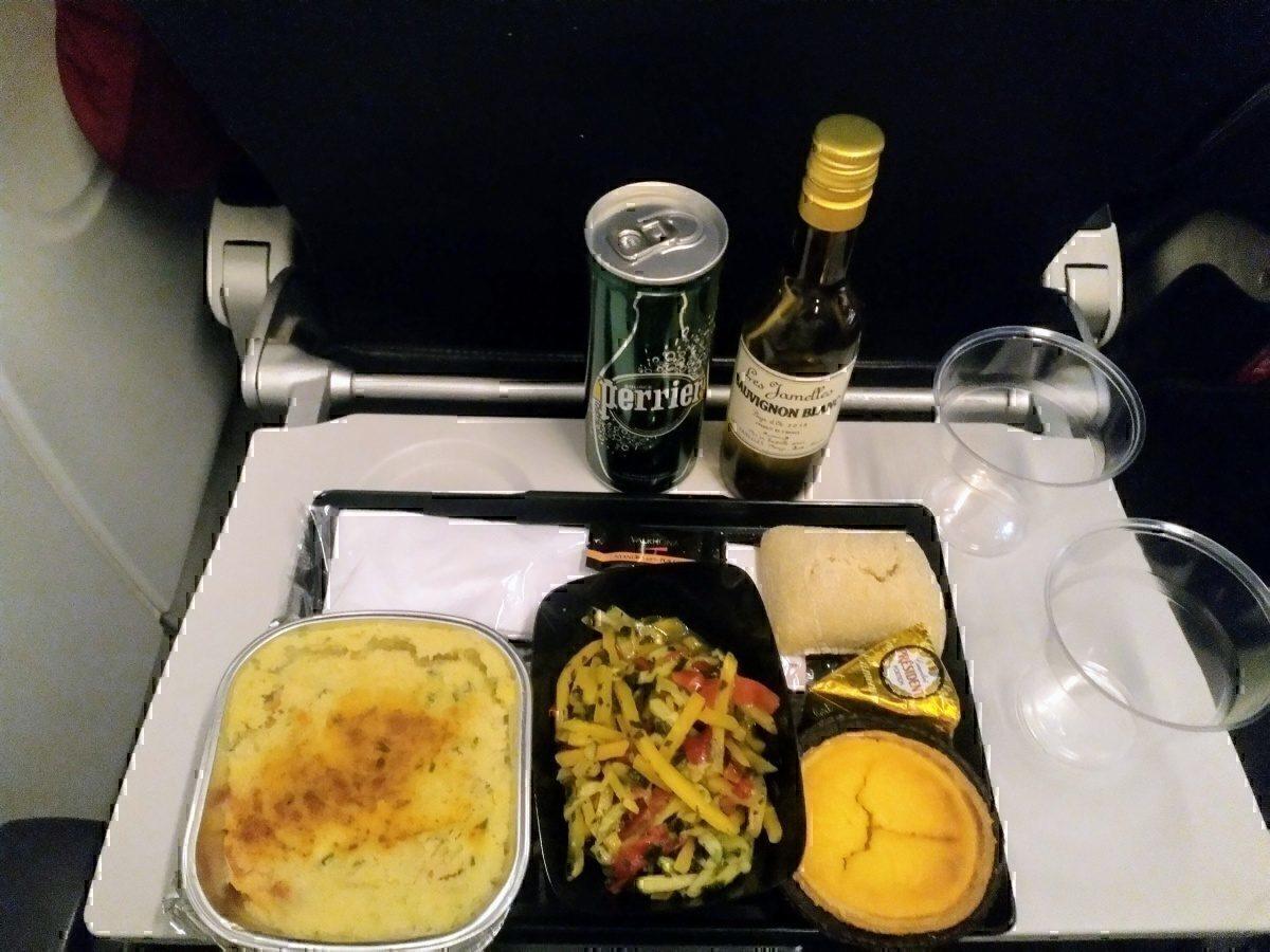 AF CDG-RBA meal