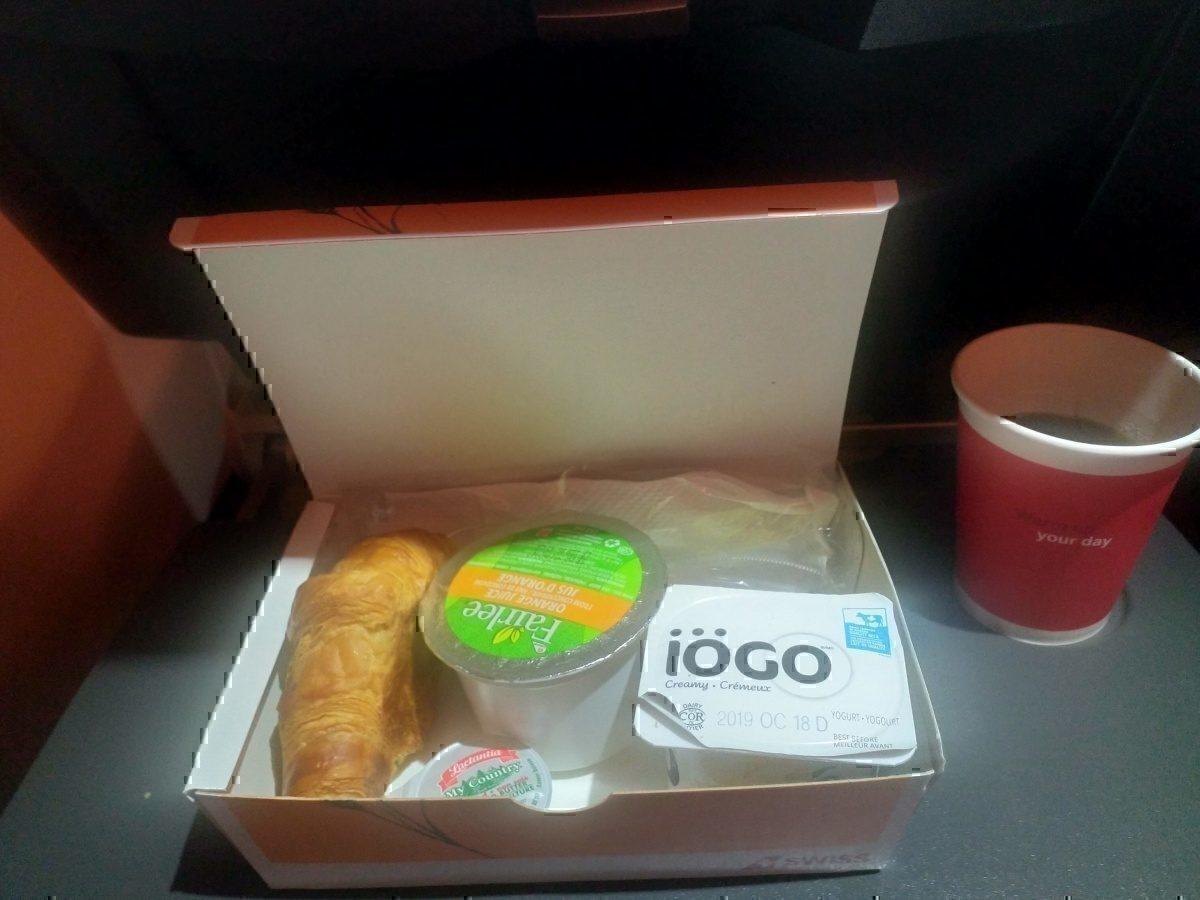 SWISS breakfast 1