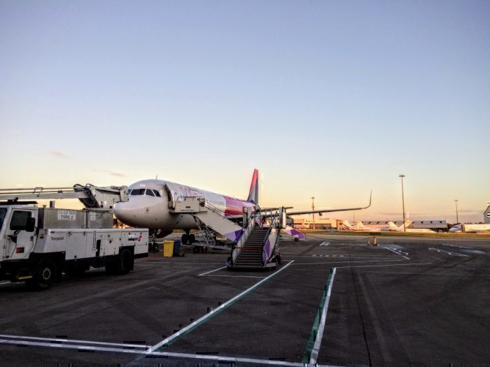 Wizz Air A321 in London Luton