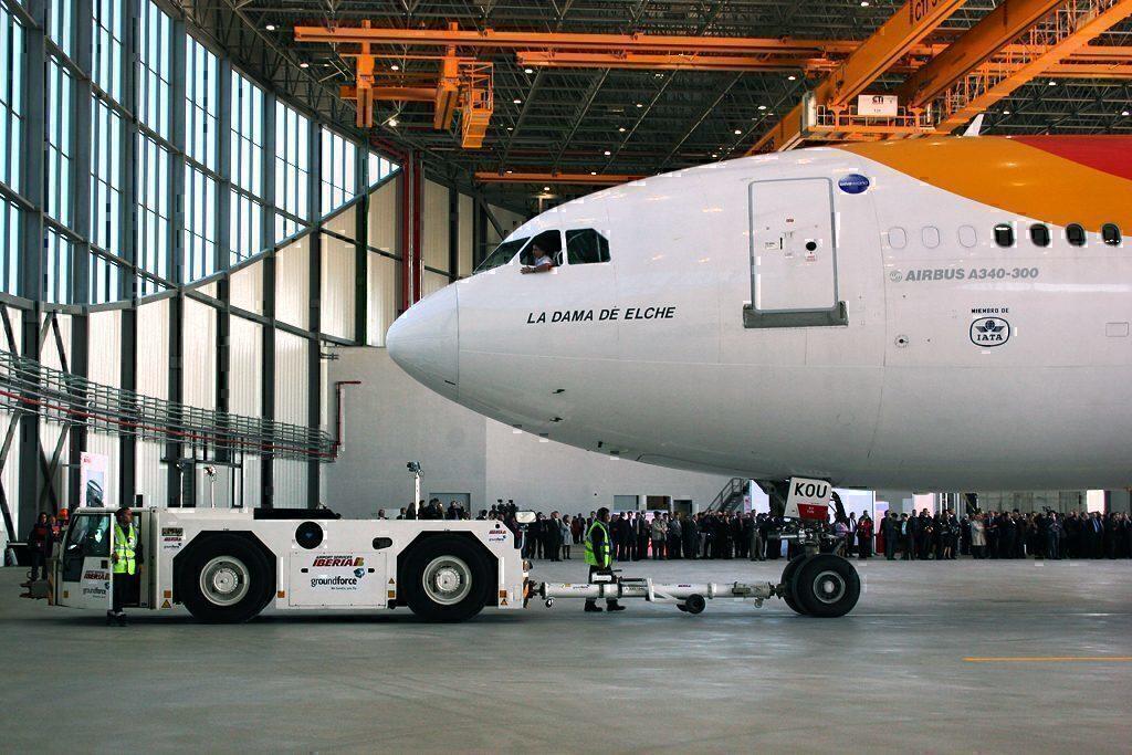 Iberia A330 Inaugeration