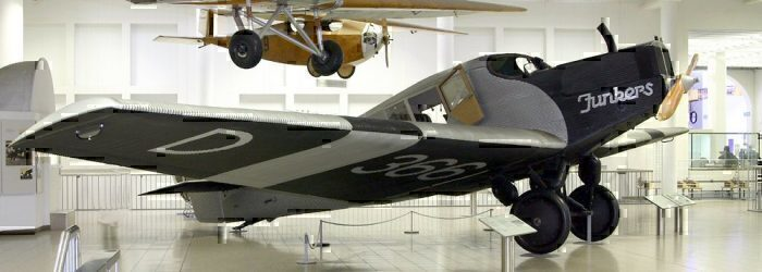 A Junkers F13 aircraft.