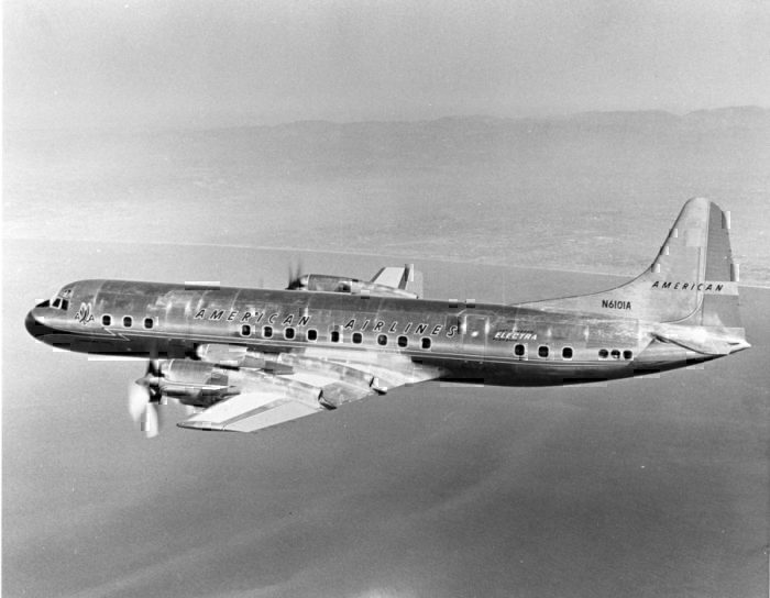 American Airlines Lockheed Electra