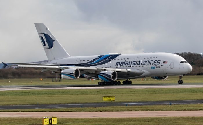 Malaysia Airlines, Airbus A380, Thomas Cook