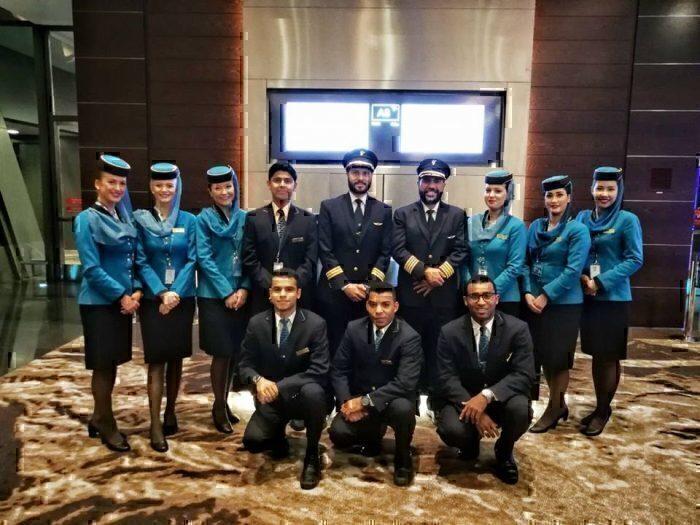 Oman Air flight crew