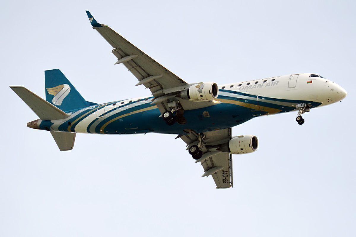 Oman Air E170