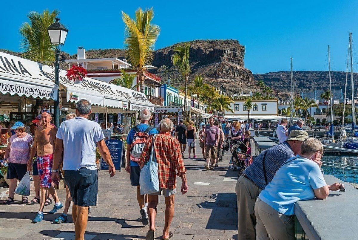 Puerto de Mogán Gran Canaria January 2016
