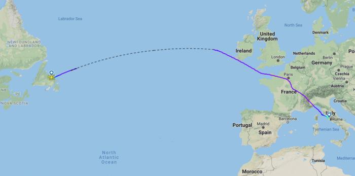 Norwegian Airlines' Wet-Leased Boeing 767 Diverts To Gander