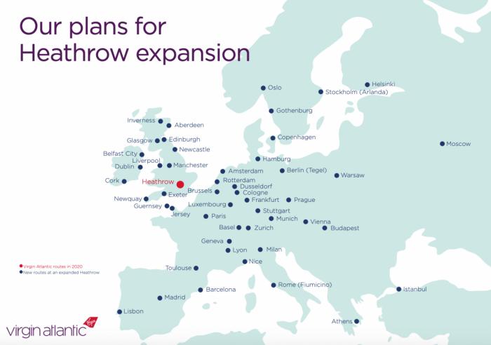 Virgin Atlantic, Short Haul Network, Heathrow Slots