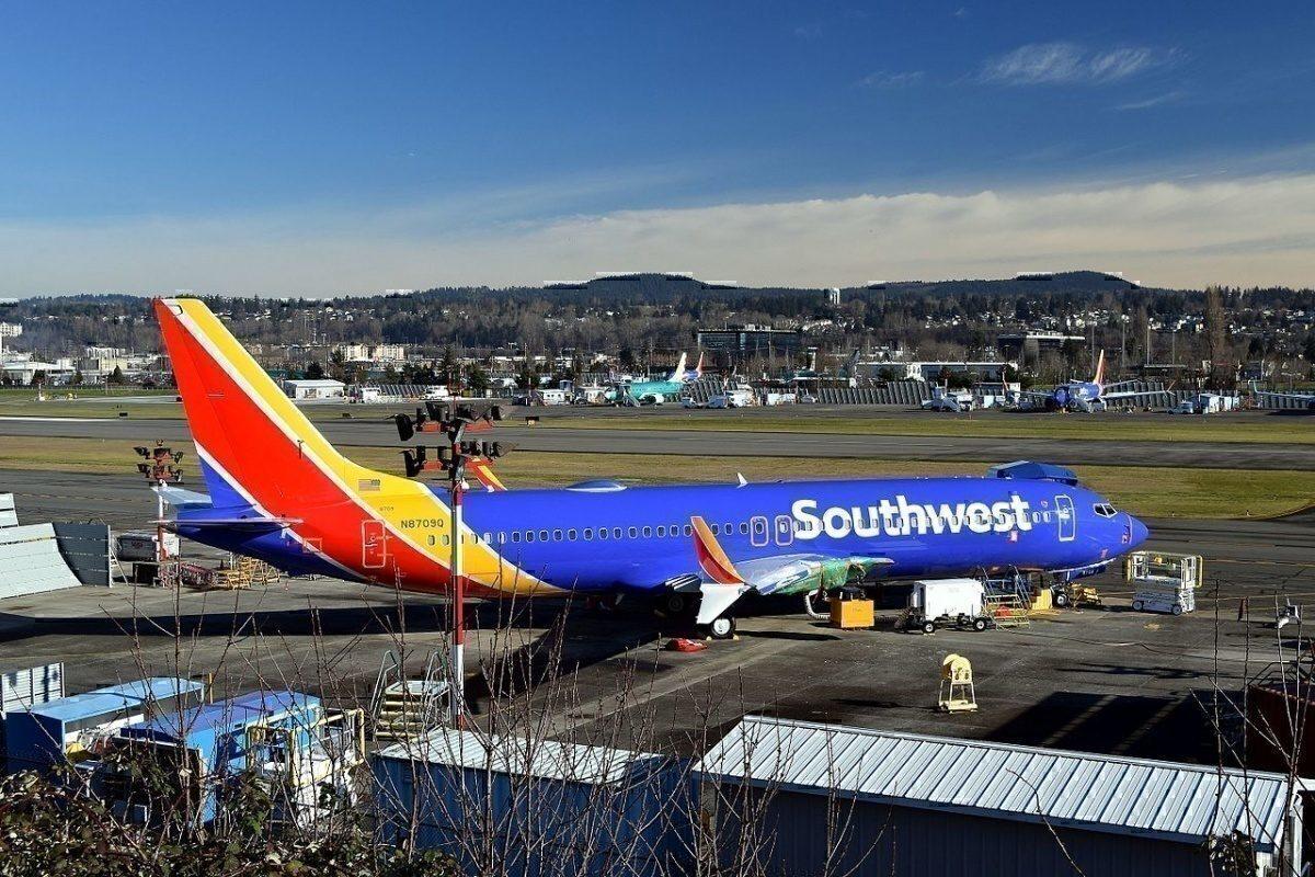 Boeing 737 MAX Southwest