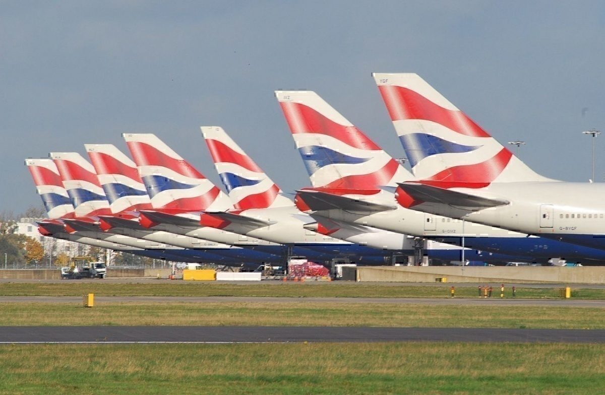 BA Tails at LHR