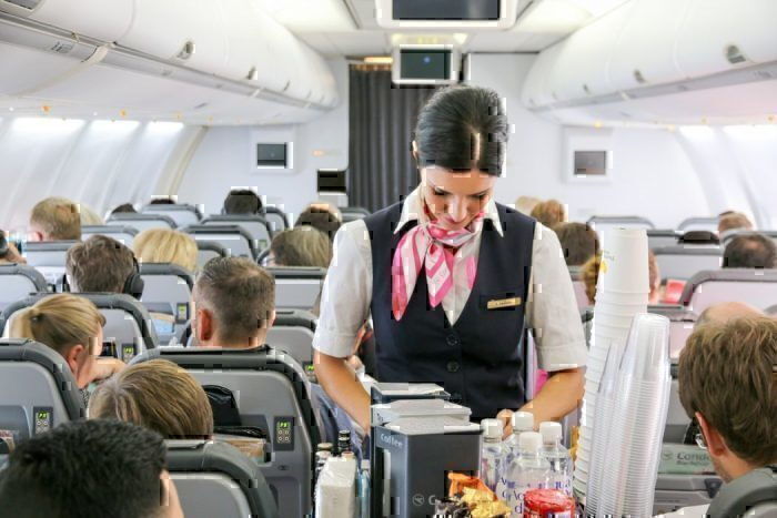 Thomas Cook flight attendant