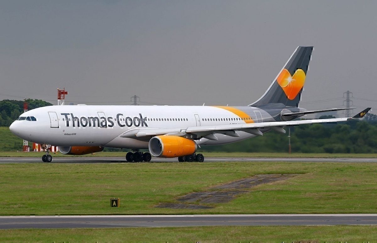 Thomas Cook A330 side view