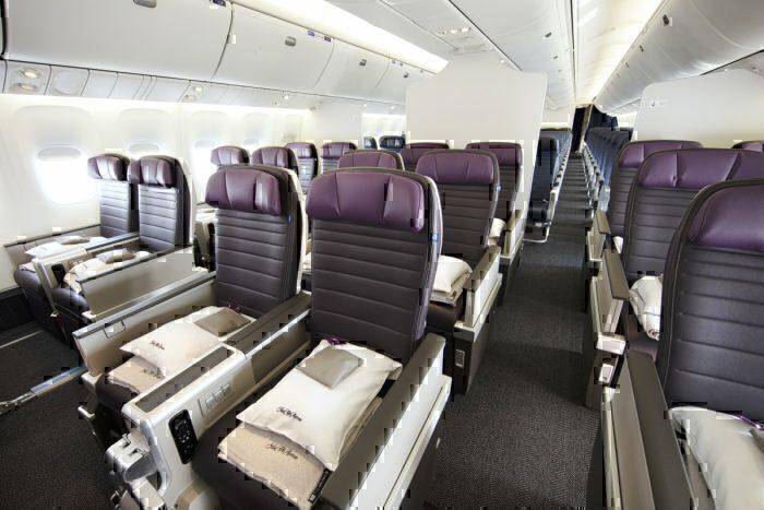 United Polaris Business Class - B767 300