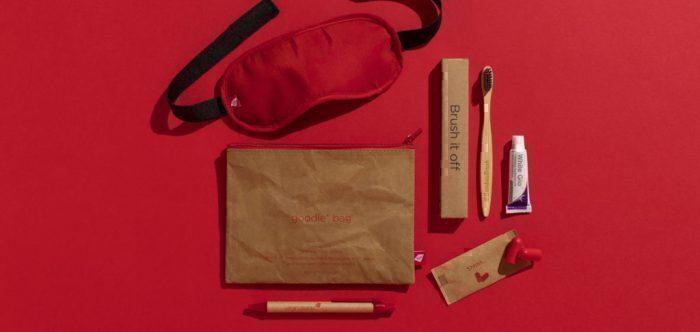 Virgin premium goody bag