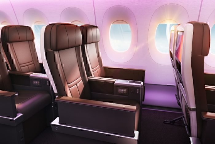 Premium economy Virgin A350