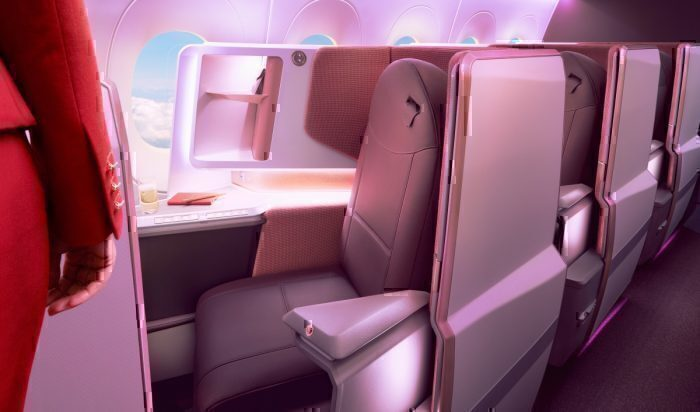 Virgin A350 upper class