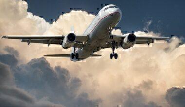 White aircraft