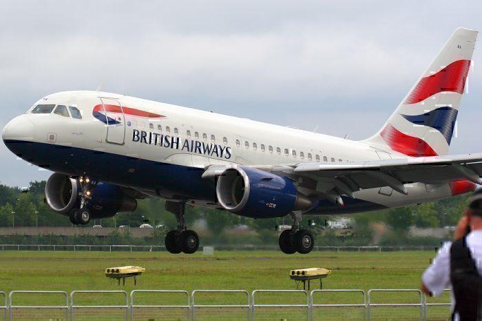 A318 take-off