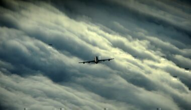 Can aircraft fly over hurricanes