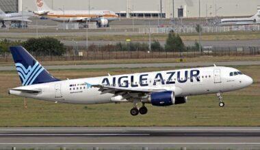 Aigle Azur jet take-off