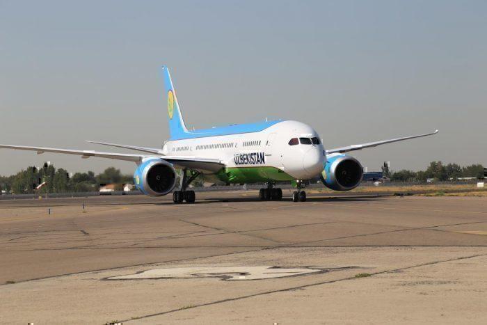 Uzbekistan Airways 787