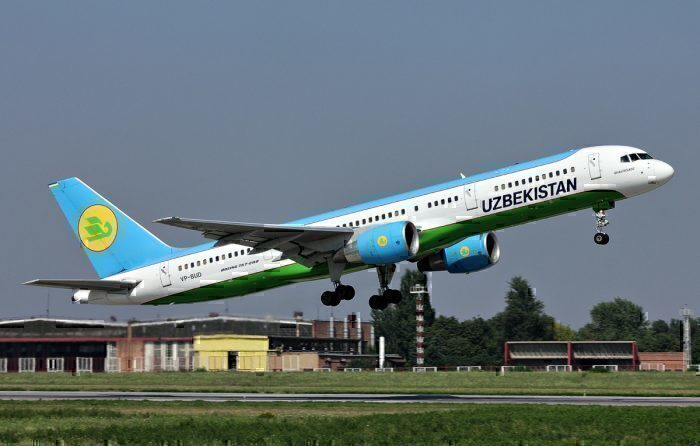Uzbekistan Airways 757