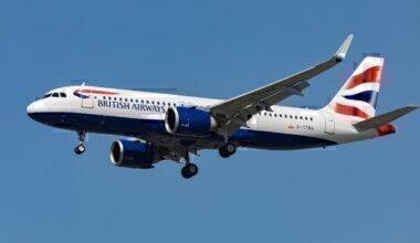 British Airways, Airbus A320neo, Center Of Gravity