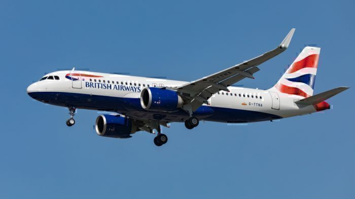 British Airways, Airbus A320neo, Center Of Gravity
