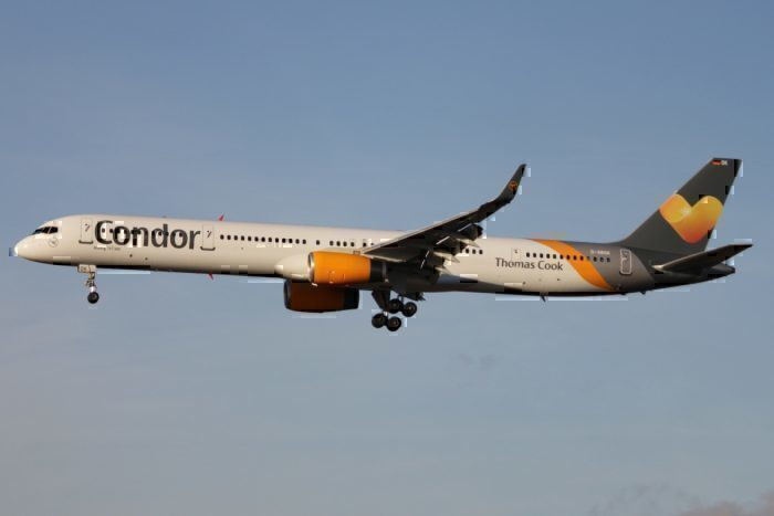 A Condor Boeing 757