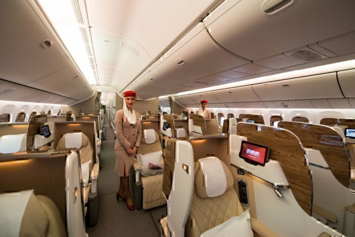 Emirates Airlines new business class