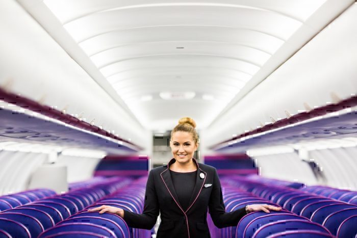 Wizz Air Interior
