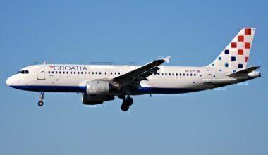 Croatia Airlines Airbus A320