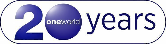 Oneworld 20 year logo