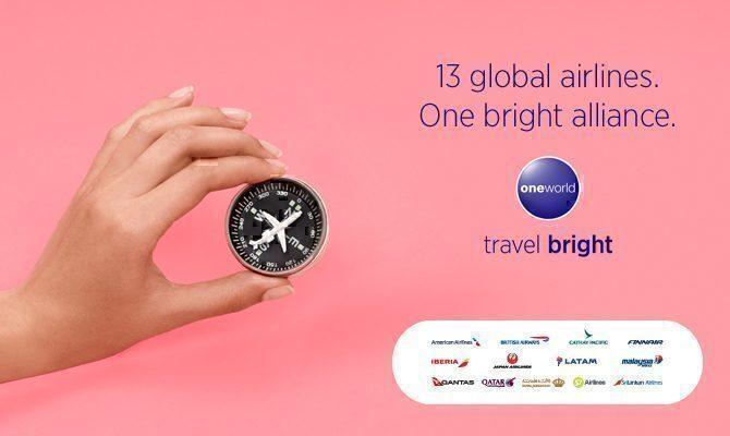 Oneworld branding