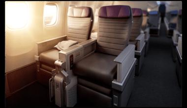 United Airlines' Premium economy