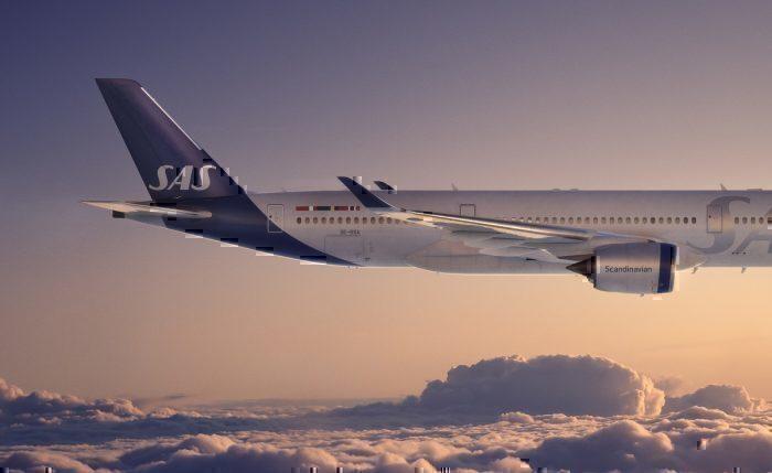 SAS jet in flight concept