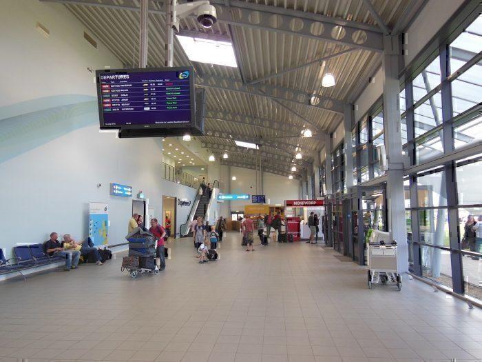 Southend terminal interior