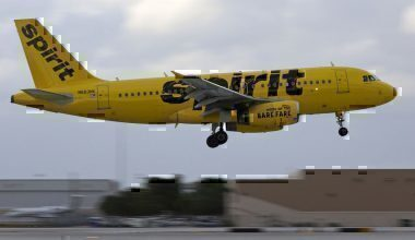 A Spirit Airlines Jet