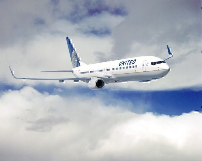 United Airlines 737