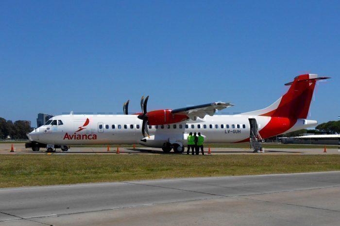 An ATR 72